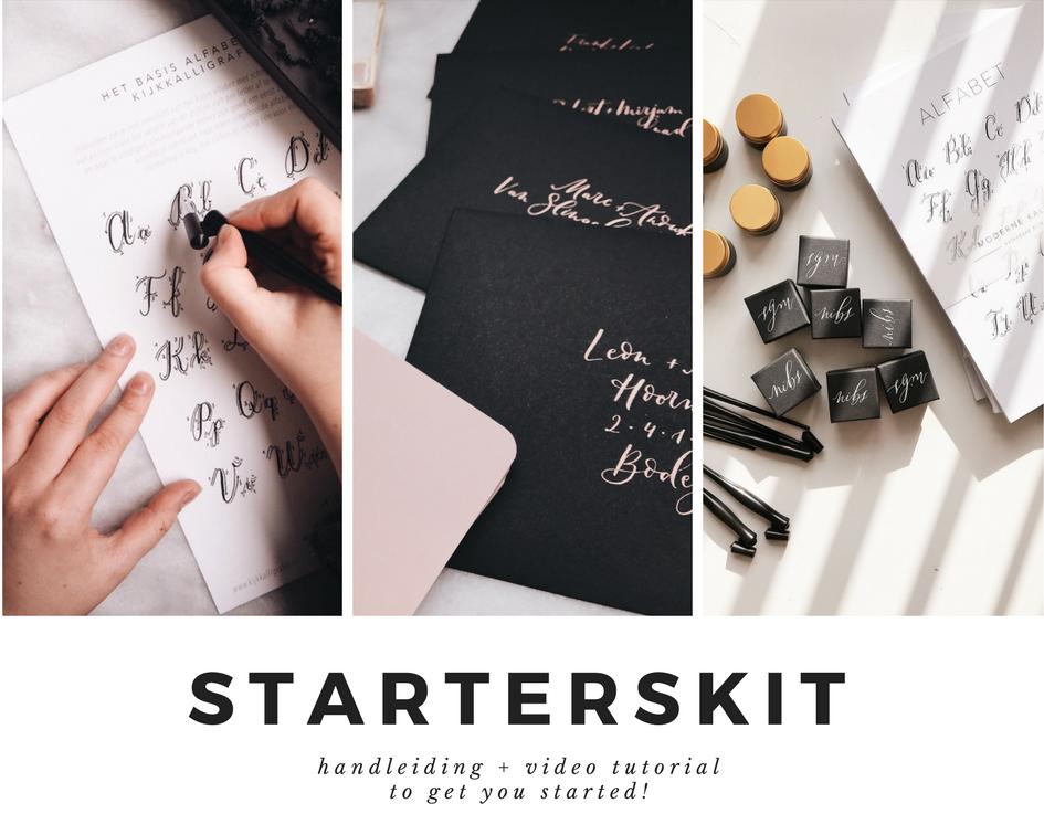 Starterskit moderne kalligrafie video